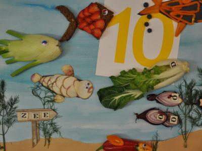 10 kleine visjes KunstAcademie 2016-2017