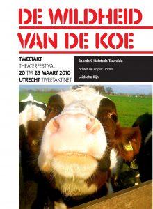 2010 De wildheid van de koe voorkant