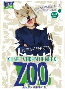 Campagnebeeld ZOO - Kunstvakantieweek