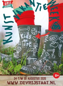 Kunstvakantieweek 2020 - Kids on Fire (staand)