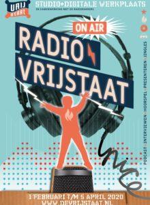 RADIO VRIJSTAAT_STAAND (Groot)