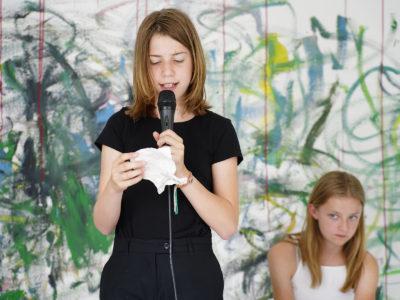 De Vrijstaat - KunstAcademie Dada Kunstcafé met kunstenaar Pluck